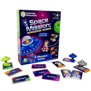 Space Mission: Nonsense Words