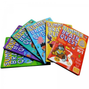Summer Brain Quest Set (6 Workbook)