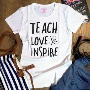 Футболка Teach Love Inspire