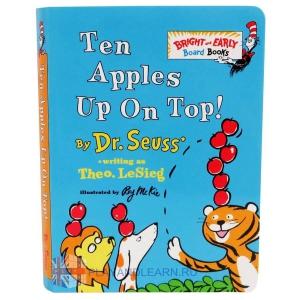 Ten Apples Up On Top (mini board book) (уценённая)