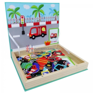 Transport Vehicle (Magnetic Puzzle)