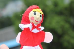 """Набор кукол """"Красная шапочка"""""""