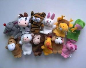 The twelve zodiac finger dolls