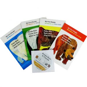 Brown Bear & Friends (4 books+CD)