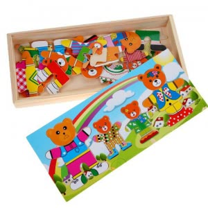 Puzzle Bears