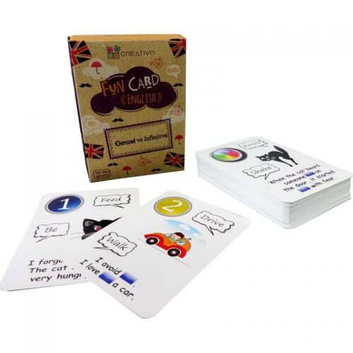 Gerund Vs Infinitive Fun Cards